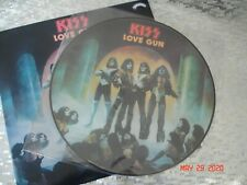 """KISS   """"LOVE GUN""""  Limited edition Picture Disc  LP  European Repressing"""
