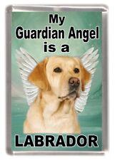 "Labrador Dog Fridge Magnet ""My Guardian Angel is a LABRADOR"" by Starprint"