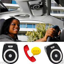 New Stereo Bass Wireless Bluetooth Car Kit Speaker Handsfree For Iphone BK YT8