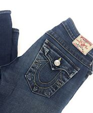 True Religion Jeans Women's Becky Style Medium Wash High Quality Size 27x34