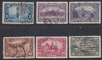 Canada - Local Motives 1935 & Airmail 1935
