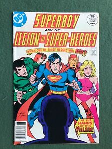Superboy Legion of the Super-Heroes #228 DC Comics Bronze Age vf