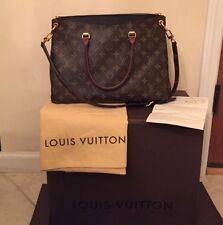 Only Used Once Louis Vuitton Pallas Noir MM Bag Perfect Condition With Dust Bag