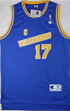 "Brand New NBA Chris Mullin 1989-97 ""C"" Throwback Blue Jersey ,Stitched Size M"