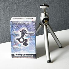 Universal Mini Tripod Stand + Bike Mount for Cameras (Value Pack) 010010100