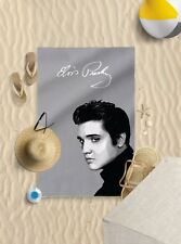 "58""x39"" Elvis presley design microfibre beach towel pool sun bathing towel only"