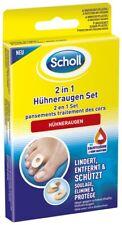 Scholl 2in1 Hühneraugen Set Hühneraugenentfernung Salicylsäure Fußpflege 1 Stück