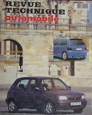 Revue technique NISSAN MICRA 93 3 et 5 portes 1.0 et 1.3 RTA N° 572 1995