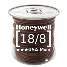 Honeywell Genesis 18/8 Thermostat Wire 250' Roll #4716 18 AWG 8 Solid Conductors