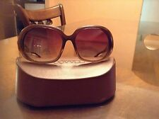 Oliver Peoples Ballerina SYC Sunglasses Sycamore Gold Amber Brown Gradient Lens