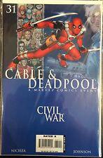 Cable and Deadpool (Vol 1) #31 VF+ 1st Print Marvel Comics