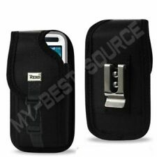 Black Holster Belt/Clip Case/Cover For Lifeproof Fre Nuud iPhone 5/5S & 5C