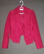 Red Just Jeans jacket Size 8