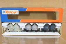 ROCO 44035 DB RAKE of 3 ZEMENT CEMENT SILO WAGON SET MINT BOXED nq