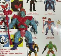 LORD FAKER figure and Accessories from the Eternia line He-man MOTU