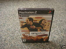 SingStar Amped (PlayStation 2) GAME ONLY NEW