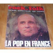 Rock&Folk N°48 - Janvier 1971 - Léo Férré, La Pop En France, Albert Ayler