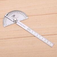 Edelstahl Winkellineal 180° Winkelmesser Messwerkzeug Gradmesser Schmiege Lineal