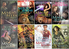 Ilona Andrews KATE DANIELS Magic Series Collection of Paperback Books 1-8