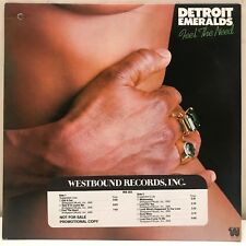 "Detroit Emeralds ""Feel The Need"" LP Westbound WB 302 EX! Promo"