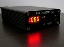 5W Stereo PLL Digital FM Transmitter  Mini FM Radio StationFm broadcast