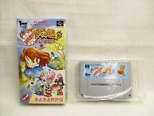 Super Famicom MADO MONOGATARI No Instrustion bcn Hanamaru Yochienji Nintendo sf