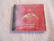 "Asia ""Live Mockba 1990"" 1991 cd Cromwell Rec.  NEW Sealed"