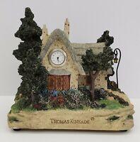 Thomas Kinkade - Cedar Nook Cottage - Clock
