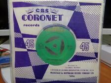 """Johnnie Ray """"Look Homeward Angel"""" 1957 CORONET Oz 7"""" 45rpm"""