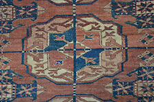 Antique Bukhara Rug Turkmenistan 19.Jh Hauptteppich 325x225 Tekke Main Carpet