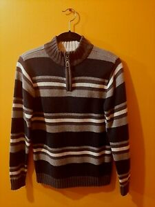 The Children's Place Boys Striped Pullover Size Large 10/12