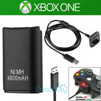 For Xbox 360 Wireless Game Controller USB Charging Cable USB Charger + Battery