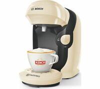 TASSIMO by Bosch Happy TAS1007GB /Style TAS1107GB Coffee Machine Cream New Model