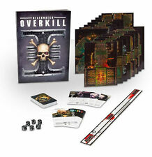 Warhammer 40K DEATHWATCH OVERKILL Rulebooks & Game Components - No Models