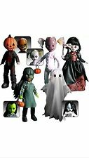Living Dead Dolls Series 16 Complete Set Pumpkin, Squeak, Isabel, Mishka,Eleanor