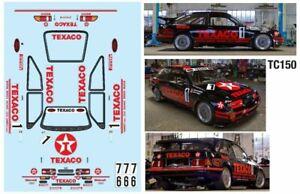 RS500 TEXACO 257mm for tamiya tt01 tt02 tl01