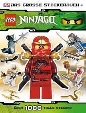 LEGO Ninjago Das große Stickerbuch von Shari Last (Moderner Einband)