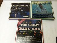 Lot of  21 READERS DIGEST LPs Records Great Band Era Organ Memories Mood Music