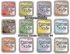 NEW Ranger Tim Holtz DISTRESS OXIDE Ink Pads ALL 12 Colors IN STOCK- RELEASE #4