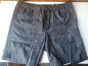 "Hurley Men's Hybrid 18"" Swim Walk Short - L Large - Trunks Quick Dry Reflective"
