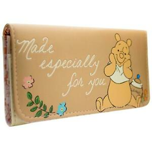 NEW OFFICIAL WINNIE THE POOH MADE ESPECIALLY FOR YOU COIN & CARD TRI-FOLD PURSE