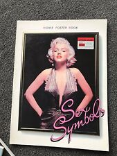 Sex Symbols Movie Poster Book Hollywood Stars David Malcolm 1985 Marilyn Monroe