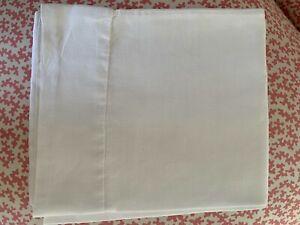1 Linen single bolster pillow cover. Excellent condition