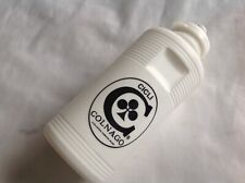 COLNAGO BLACK LOGO 1970s VINTAGE - WHITE WATER 500ml BOTTLE - NEW OLD STOCK