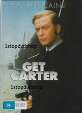 Michael Caine 4 DVD Coll Get Carter Billion Dollar Brain Etc Aus