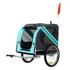 Pawhut Pet Cane Rimorchio Bicicletta Porta Bici Cat resistente all'acqua per Outdoor Gree