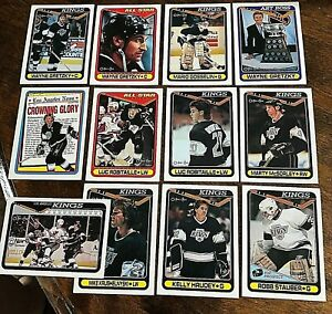 1990-91  O-Pee-Chee  LOS ANGELES KINGS 28 card team set