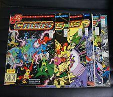 Crisis on infinite earths - Lotto 6 fumetti (1/ 2 / 3 / 5 / 6 / 8) - Ed. 1990-91