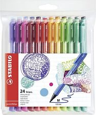 STABILO pointMax Nylon Tip Pen - Assorted Colours (Pack of 24)