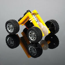 L-shaped Electric Car Educational Kits DIY Hobby Robotic Toy Model Learning